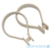 Sealskin Kółka do zasłon 12 sztuk jasmijn Beauty Ring beż 251060260