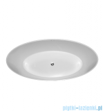 Omnires MARBLE+ROMA 159 BP wanna 159x72cm wolnostojąca biała połysk