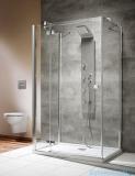 Radaway Kabina prysznicowa Almatea KDJ+S 90x120x90 lewa szkło przejrzyste + brodzik Doros D + syfon 31553-01-01L