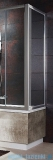 Radaway Ścianka Vesta S75 szkło przejrzyste 204075-01