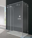 Radaway Euphoria KDJ+S kabina przyścienna 90x100x90 lewa szkło przejrzyste + brodzik + syfon 383022-01L/383050-01/383030-01/4AD910-01