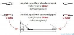 New Trendy Modena profil poszerzający 25mm PP-0002