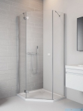 Radaway Essenza New Ptj kabina 90x90cm lewa szkło przejrzyste 385010-01-01L/385050-01-01