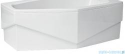 Polimat Marika obudowa akrylowa do wanny asymetrycznej 140x80 cm prawa 00800