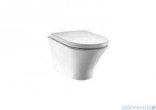 Roca Nexo Rimless miska wc podwieszana biała Maxi Clean A34664L00M