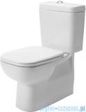 Duravit D-Code miska toaletowa stojąca lejowa odpływ Vario  355x650 mm 211809 00 002