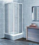Aquaform Variabel kabina prysznicowa kwadratowa polistyren biały 26911