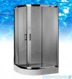 Omnires Health Kabina 2-skrzydłowa prawa JK28 80x100x185cm szkło grafitowe JK2808/10PGrafit
