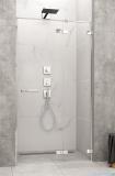 Radaway Arta Dwj II drzwi wnękowe 130cm prawe szkło przejrzyste 386444-03-01R/386013-03-01R