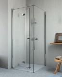 Radaway Essenza New KDJ-B kabina prysznicowa 80x80 lewa przejrzyste 385081-01-01L/384051-01-01