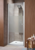 Radaway Eos DWJ Drzwi wnękowe 80 szkło intimato + brodzik Delos C + syfon 37913-01-12N