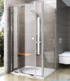 Ravak Pivot PPS ścianka prysznicowa 90cm aluminium transparent Anticalc 90G70C00Z1