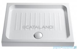 Catalano Base brodzik 90x72x11 cm ceramiczny biały 17290N00