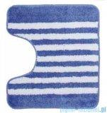 Sealskin Dywanik łazienkowy Strisce Blue kontur 50x45cm 294388424