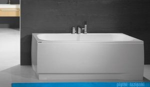 Sanplast Free Line obudowa do wanny lewa OWPLL/FREE 75x140cm biała 620-040-0230-01-000
