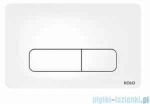 Koło Nova Pro przycisk spłukujący do stelaża Technic GT do WC biały antybakteryjny 94160100