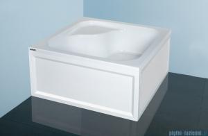Sanplast Classic brodzik kwadratowy 80x80x28cm z siedziskiem+stelaż 615-010-0240-01-000