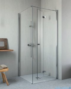 Radaway Essenza New KDJ-B kabina prysznicowa 90x75 prawa przejrzyste 385082-01-01R/384049-01-01