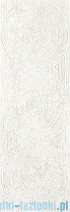 Paradyż Nirrad bianco struktura płytka ścienna 20x60
