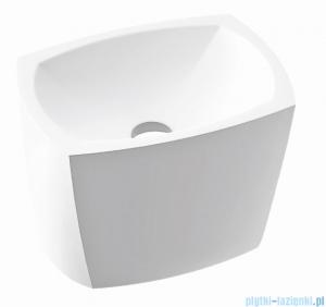 Marmorin Isar umywalka nablatowa 45,5x32,8cm biała P597040020010