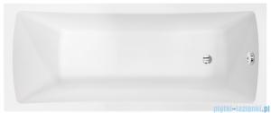 Besco Optima 170x70cm wanna prostokątna + obudowa + syfon #WAO-170-PK/#OAO-170-PK/19975