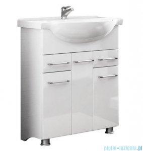 Antado Prima szafka z umywalką 71x33,4x80 biały połysk BFM-140/7 + UCG-75
