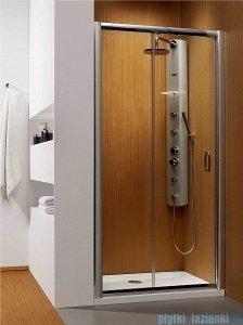 Radaway Premium Plus DWJ Drzwi wnękowe 120 szkło przejrzyste + Brodzik Doros D + syfon 33313-01-01N