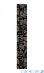 Paradyż Lensitile grafit listwa podłogowa 7,2x45