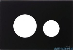 Tece Obudowa ze szkła-do WC Teceloop czarna 9.240.674