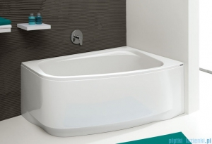 Sanplast Free Line obudowa do wanny prawa 85x140cm biała 620-040-0740-01-000