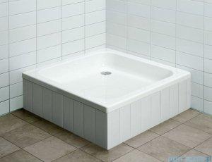 Aquaform Standard brodzik kwadratowy 90x90x25cm na podstawie ze styropianu 18502