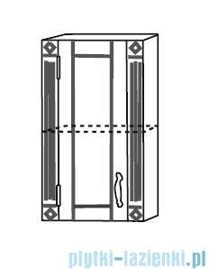 Antado Ritorno szafka wisząca lewa 39x20x71 biała VR-219-14L