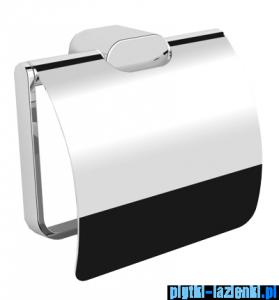 Omnires Michigan uchwyt na papier toaletowy z klapką chrom MI20520