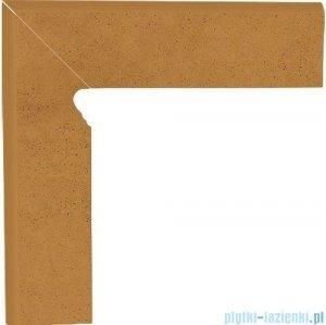 Paradyż Aquarius brown klinkier cokół schodowy lewy 30x30