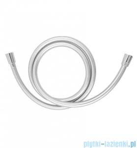 Omnires wąż prysznicowy bezskrętny 175cm srebrny SILVERX175