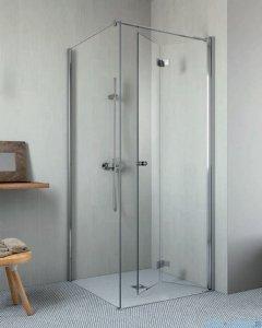 Radaway Essenza New KDJ-B kabina prysznicowa 90x80 prawa przejrzyste 385082-01-01R/384051-01-01