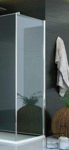 SanSwiss Pur PUDT3P Ścianka boczna 100x200cm pas satynowy PUDT3P1001051