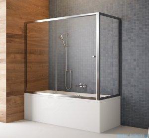 Radaway Vesta Dwj+s parawan nawannowy 140x70cm szkło fabric 209114-01-06/204070-06