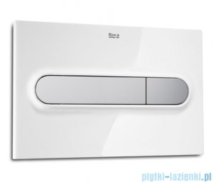 Roca PL1 Przycisk Dual Combi 3/6l biały/chrom mat A890095005