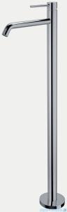Paffoni Light bateria umywalkowa/wannowa podłogowa 1130 mm chrom LIG031