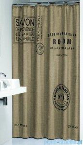 Sealskin Savon de Provance - beż zasłona prysznicowa tekstylna 180x200cm 233321374