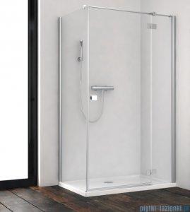 Radaway Essenza New Kdj kabina 100x100cm prawa szkło przejrzyste + brodzik Doros C + syfon