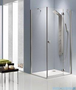 Radaway Kabina prysznicowa Essenza KDJ 100x90 prawa szkło brązowe + brodzik Doros D + syfon 32845-01-08NR