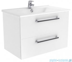 New Trendy Fargo szafka umywalkowa  55 + umywalka grafit połysk ML-AR155