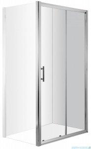 Deante Cynia drzwi wnękowe przesuwne 140x195 cm przejrzyste KTC 014P