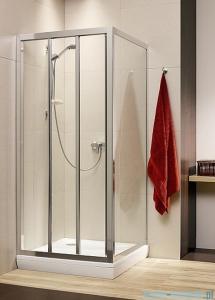 Radaway Treviso DW+S kabina 100x80 szkło fabric 32323-01-06N/32413-01-06N