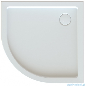 Sanplast Free Line brodzik półokrągły zabudowany BPza/FREE 100x100x5cm 615-040-1740-01-000