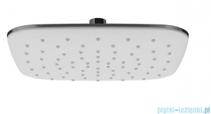 Ravak ABS deszczownica kwadrat 250mm biała X07P347