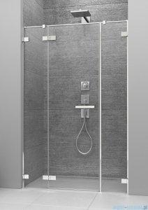 Radaway Arta Dwjs drzwi wnękowe 130cm lewe szkło przejrzyste 386455-03-01L/386122-03-01L