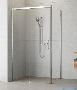 Radaway Idea Kdj kabina 100x100cm lewa szkło przejrzyste + brodzik Doros C + syfon
